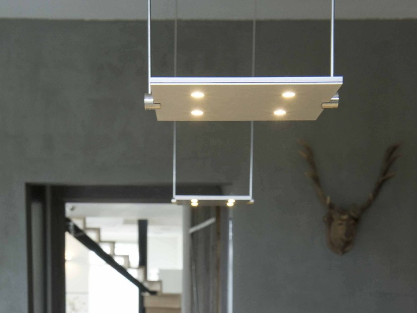 LED adjustable aluminium pendant lamp with dimmer PIXEL | Pendant lamp by FERROLIGHT DESIGN