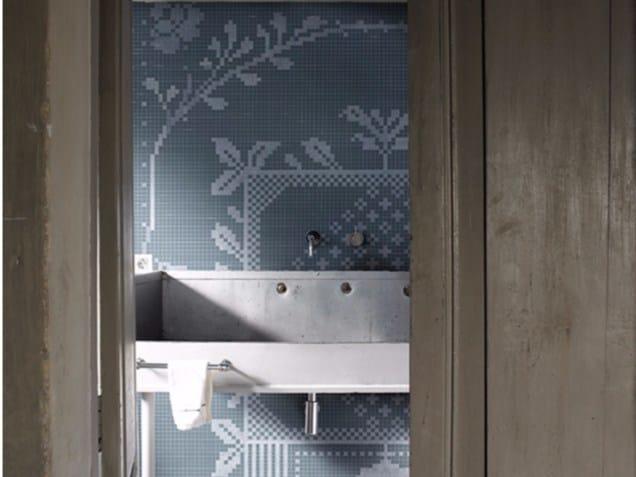 Waterproof glass-fibre wallpaper PIXIE - Wall&decò