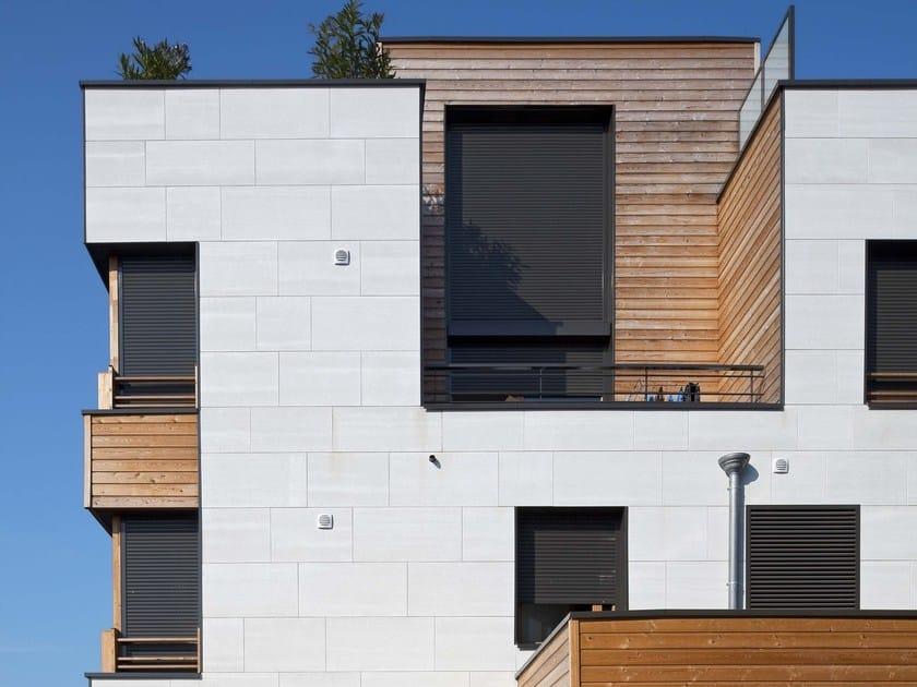 Wood Elevation Network : Pannello per facciata in cemento fibrorinforzato piz