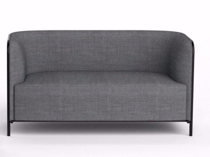 3 seater fabric sofa PLACE | Fabric sofa - GABER
