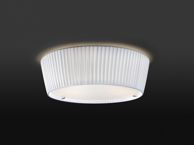 Direct light fabric ceiling light PLAFONET - BOVER Il. Luminació & Mobiliario