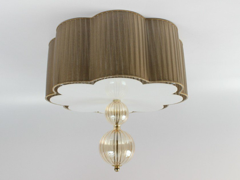 Handmade blown glass ceiling light 3001 | Blown glass ceiling light - Ipsilon PARALUMI