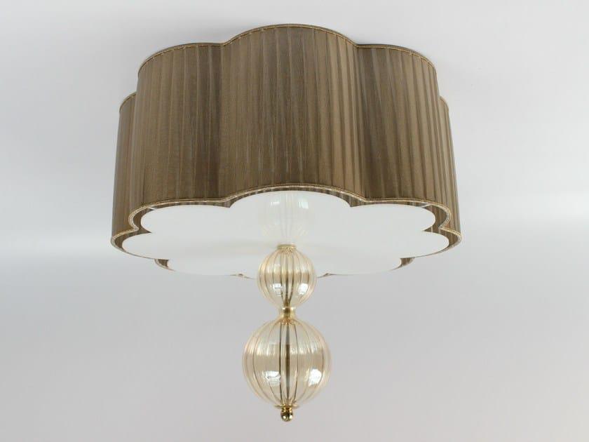 Handmade blown glass ceiling light 3001 | Blown glass ceiling light by Ipsilon PARALUMI