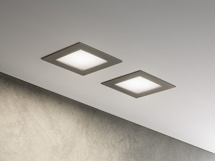 LED recessed spotlight for false ceiling PLAIN by Olev by CLM Illuminazione