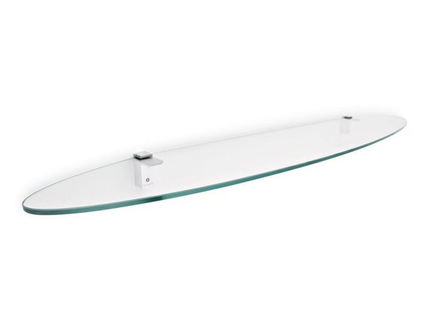 Glass wall shelf PLANA - Calligaris