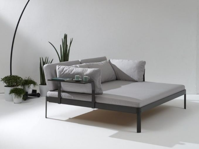 Fabric day bed PLANE FOR IN | Day bed - iCarraro italian makers