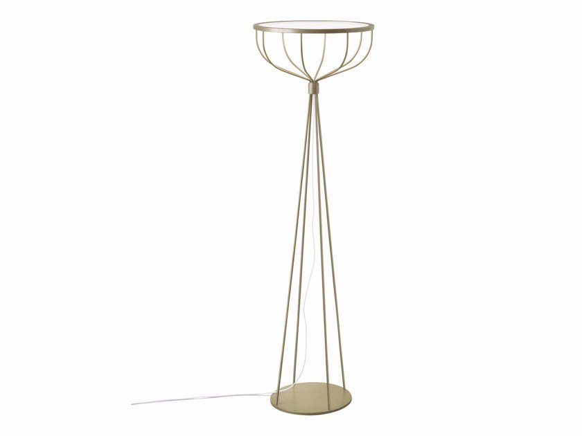 Contemporary style LED indirect light metal floor lamp PLANE | Floor lamp by ZERO