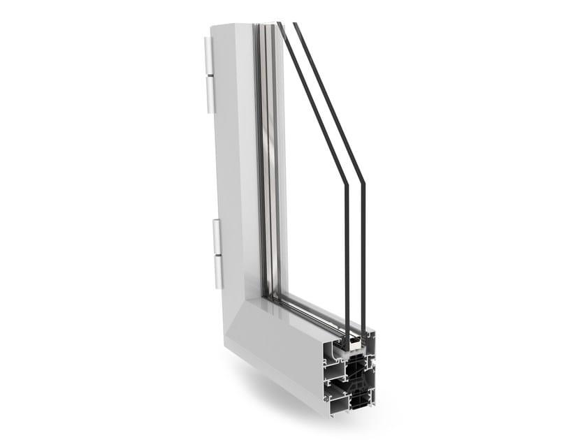Aluminium thermal break window PLANET 62 PLUS by ALsistem