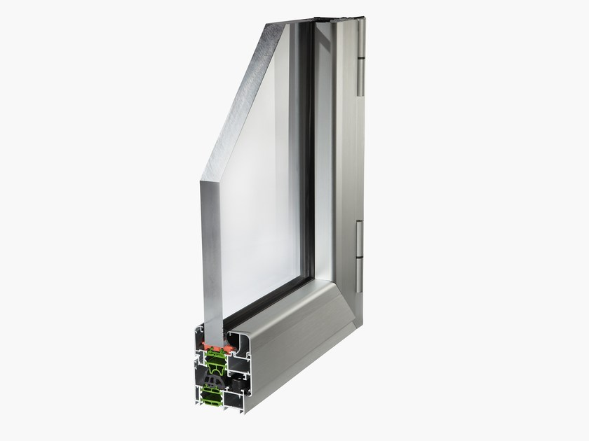 Aluminium thermal break window PLANET 62TT - ALsistem