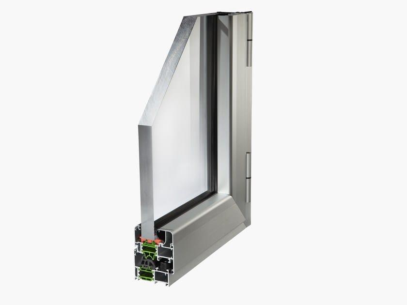 Finestra alluminio a taglio termico planet 62tt by alsistem for Finestre a taglio termico prezzi