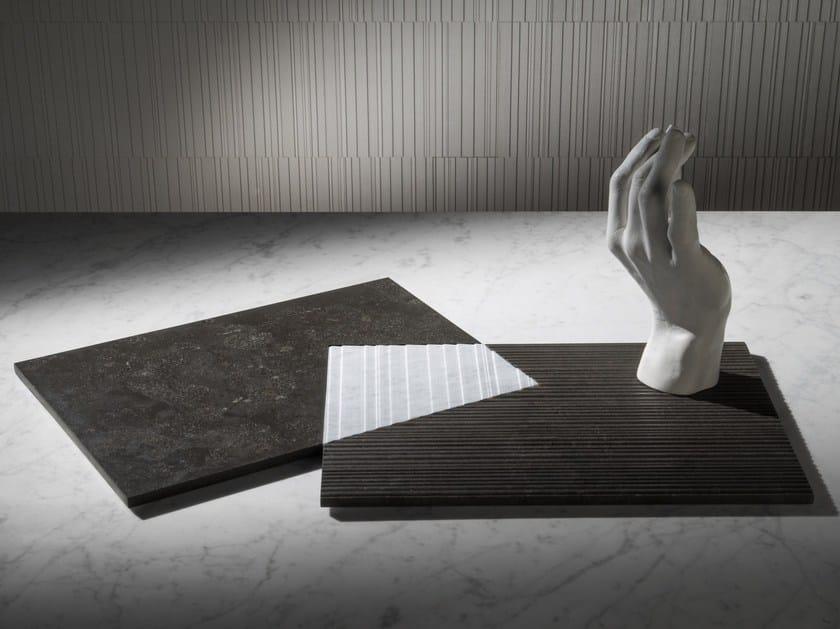 Natural stone tray PLAT-EAU Classic 03 by SALVATORI