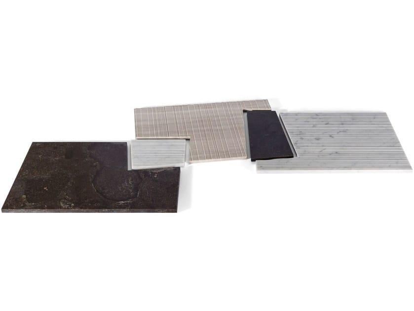 Natural stone tray PLAT-EAU Classic 04 by SALVATORI