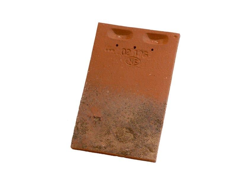 Tegola piana in terracotta PLATE PRESSÉE 17X27 STE FOY - IMERYS Toiture