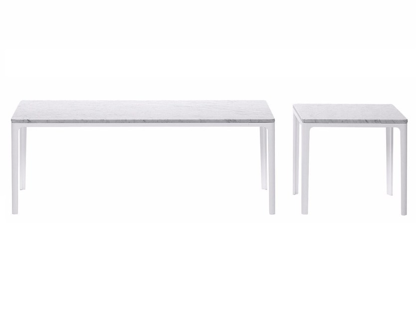 Low coffee table for living room PLATE TABLE by Vitra