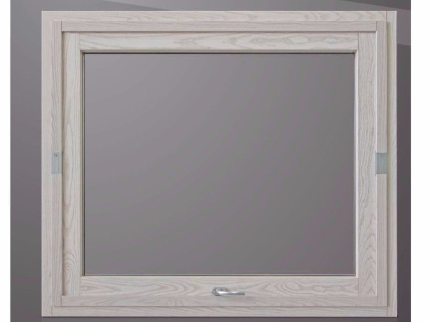 Horizontally pivoted window PLATINUM BL QUADRA 90° by Cos.Met.