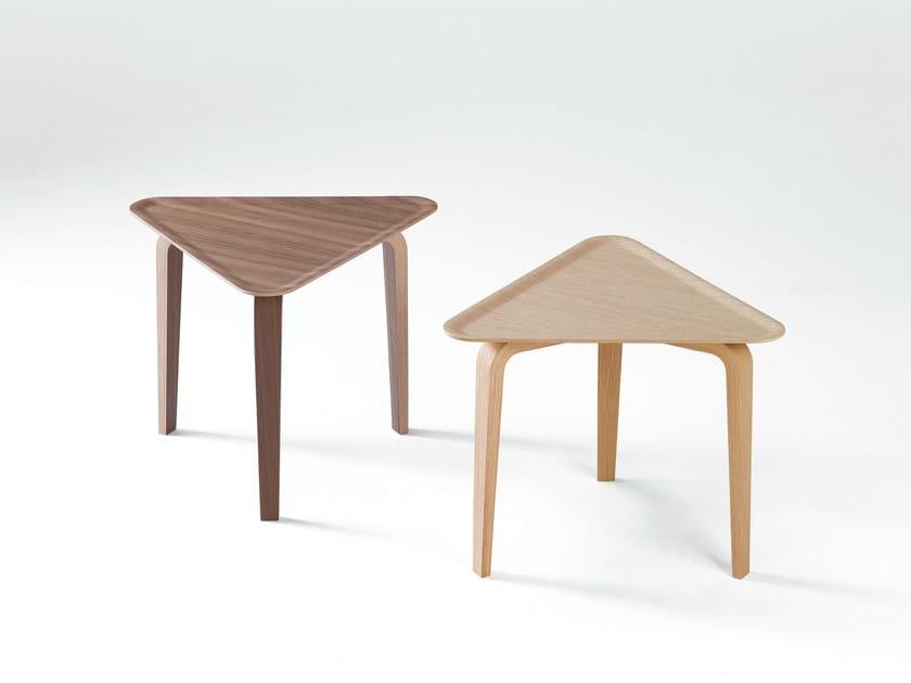 Triangular coffee table PLATONE | Coffee table - Caimi Brevetti