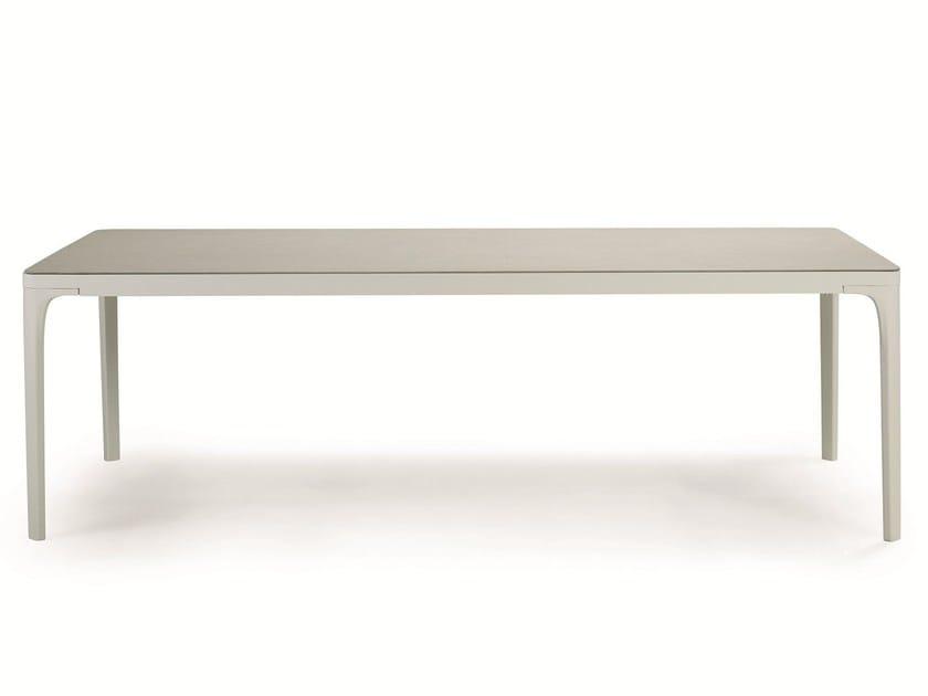 Tavolo da giardino rettangolare in alluminio PLAY   Tavolo in alluminio by Ethimo