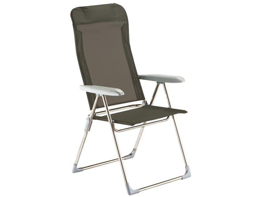 Sedia a sdraio reclinabile con braccioli playa fiam for Sedia a dondolo reclinabile