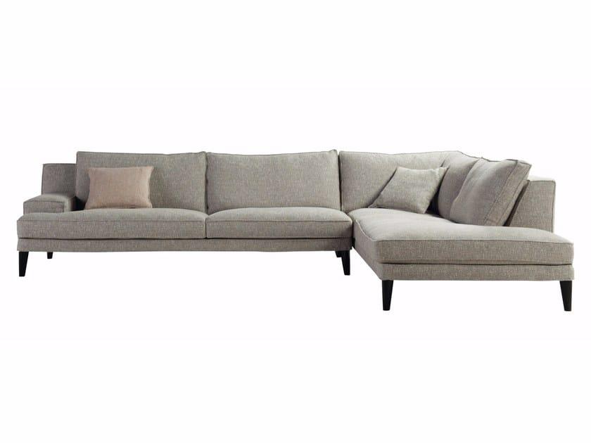 Corner sectional fabric sofa PLAYLIST   Corner sofa by ROCHE BOBOIS