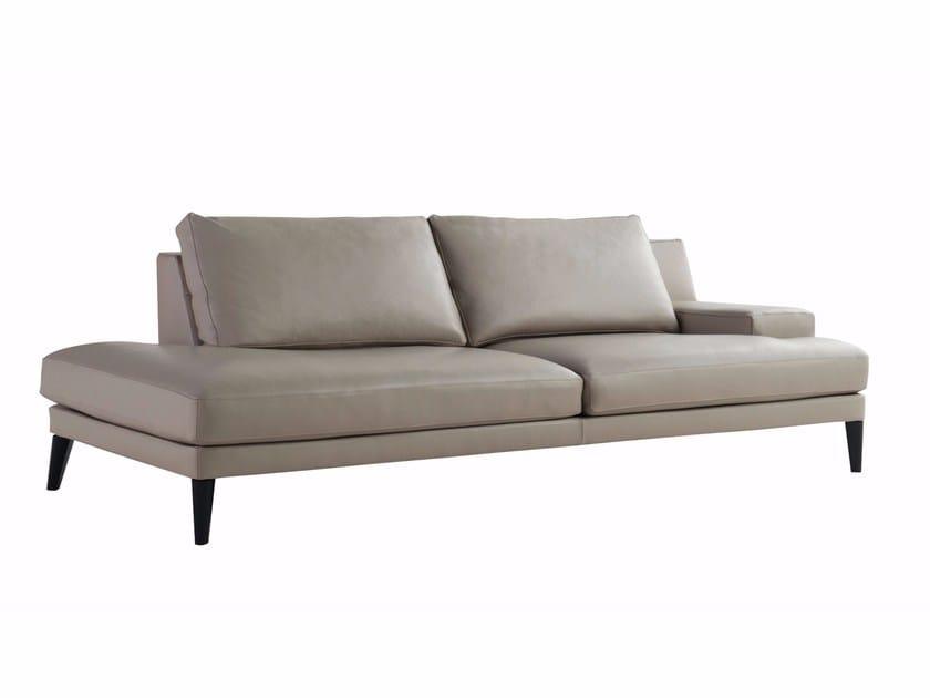 Leather sofa PLAYLIST | Leather sofa by ROCHE BOBOIS