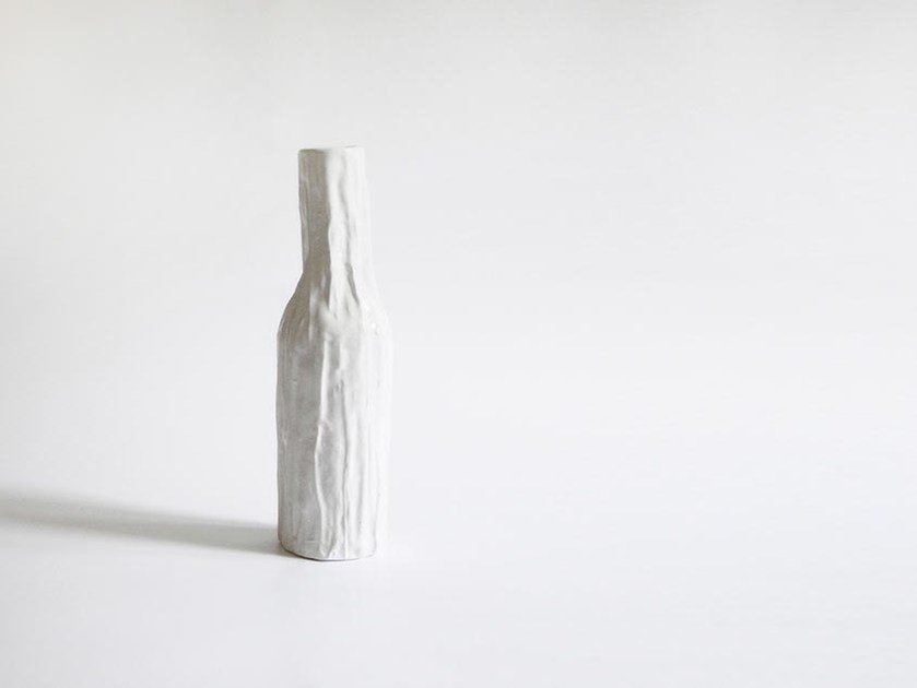 Ceramic bottle PLISS - N.O.W. Edizioni