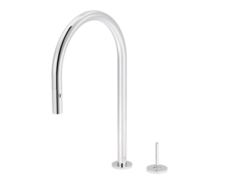 2 hole kitchen mixer tap with pull out spray PLUG | 2 hole kitchen mixer tap - rvb