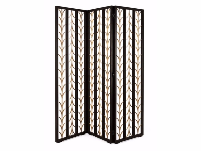 Contemporary style steel screen PLUMAGE - Christopher Guy