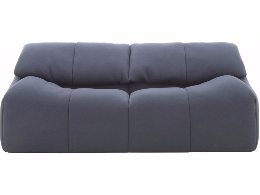 3 seater fabric sofa with removable cover PLUMY | Sofa - ROSET ITALIA