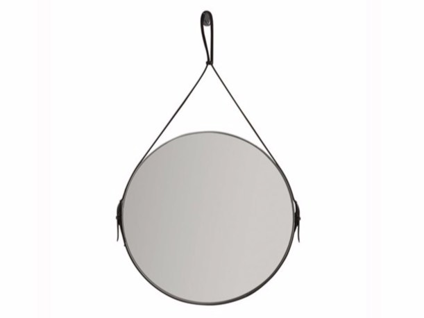Round wall-mounted bathroom mirror PLUS DESIGN | Round mirror - GALASSIA