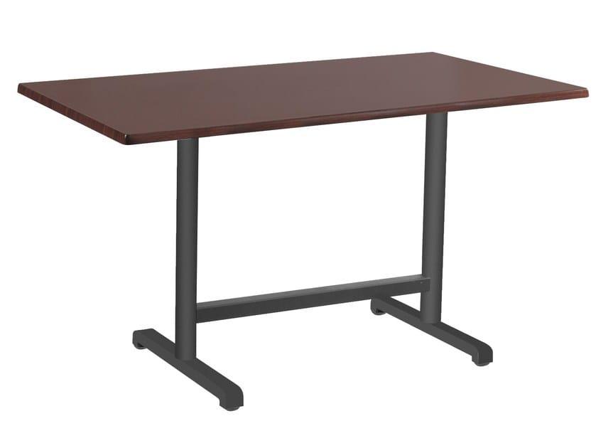 Metal table base PLUS II by Papatya