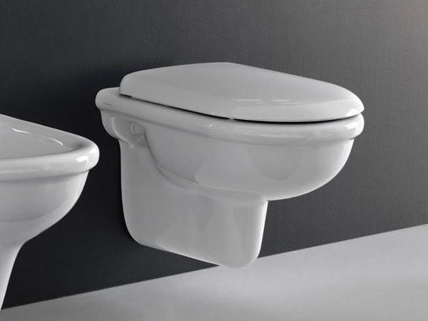 Ceramic toilet PLUVIA | Wall-hung toilet - Hidra Ceramica