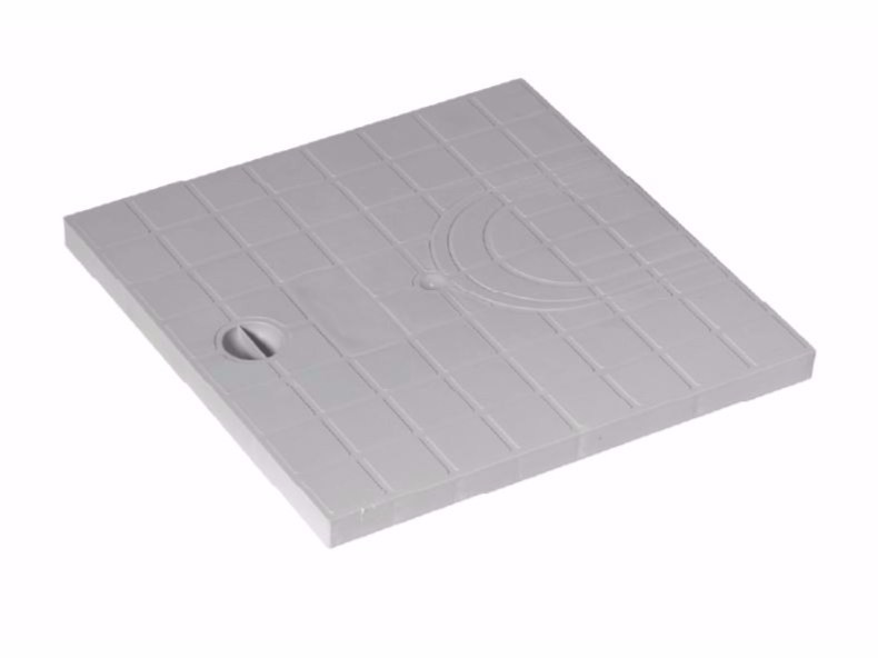 Manhole cover and grille for plumbing and drainage system PLUVIAL COVER by Dakota