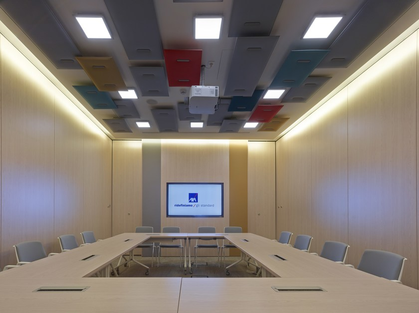 Acoustic operable wall PMI - MAXI by ANAUNIA