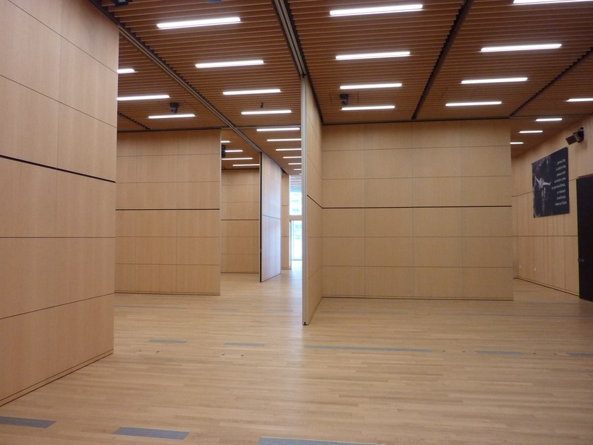 Customizable movable partition walls PMT - TAILOR - ANAUNIA