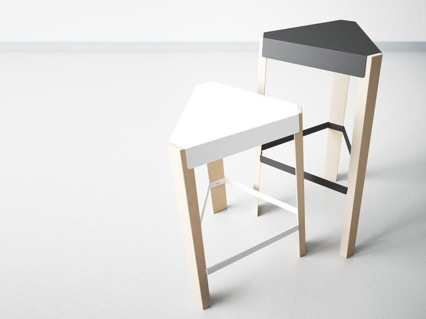 Barstool with footrest PODIO | Barstool - CANCIO