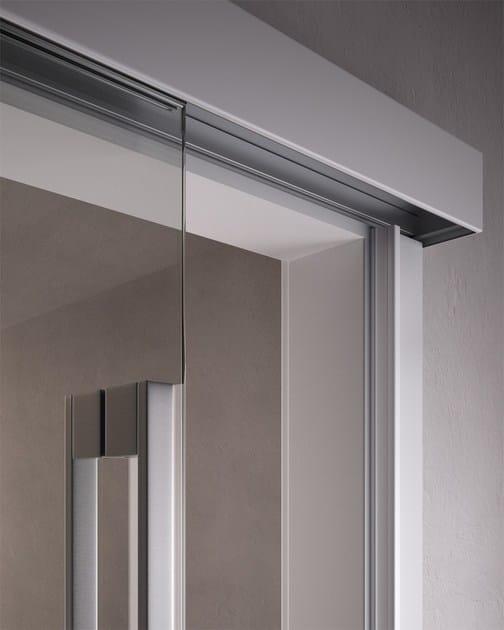 Porta scorrevole in vetro poema porta scorrevole garofoli for Porte scorrevoli in vetro garofoli