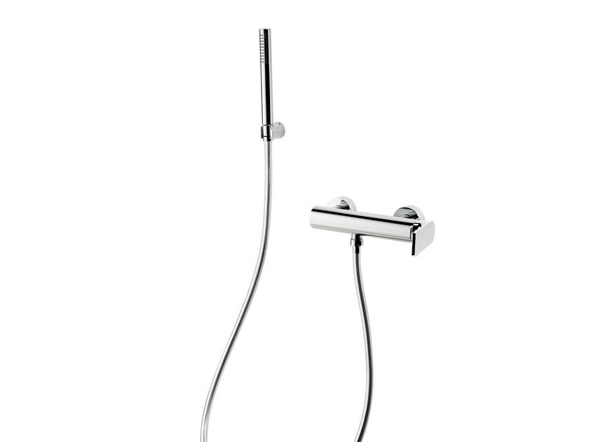 Shower mixer with hand shower POIS | Shower mixer with hand shower by RITMONIO