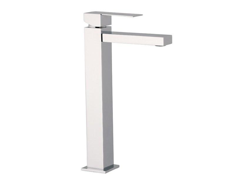 Chrome-plated single handle washbasin mixer POLAR | Chrome-plated washbasin mixer - Rubinetterie Mariani