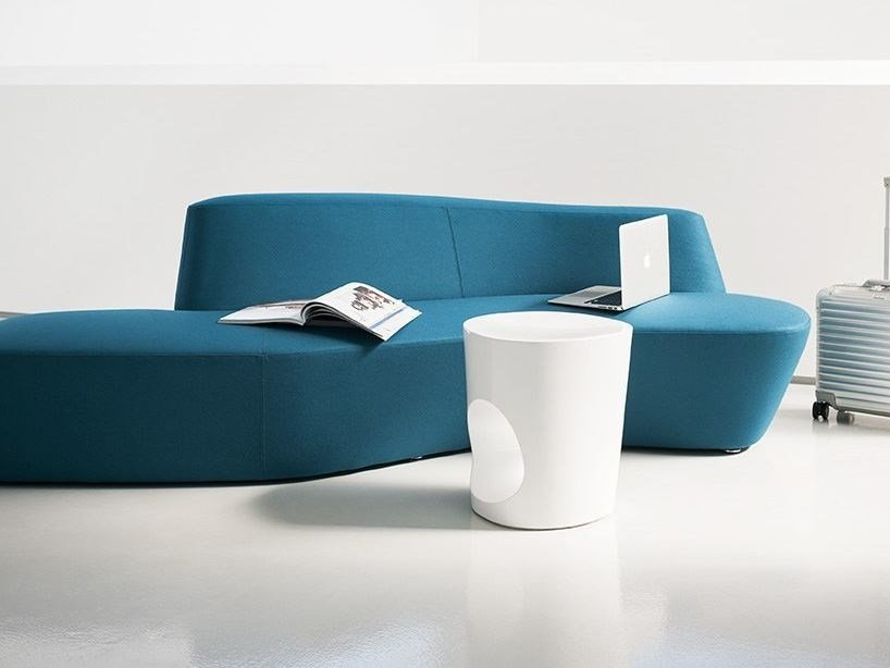 Round coffee table POLAR | Coffee table by Tacchini