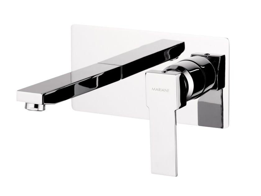Wall-mounted single handle washbasin mixer POLAR   Wall-mounted washbasin mixer - Rubinetterie Mariani