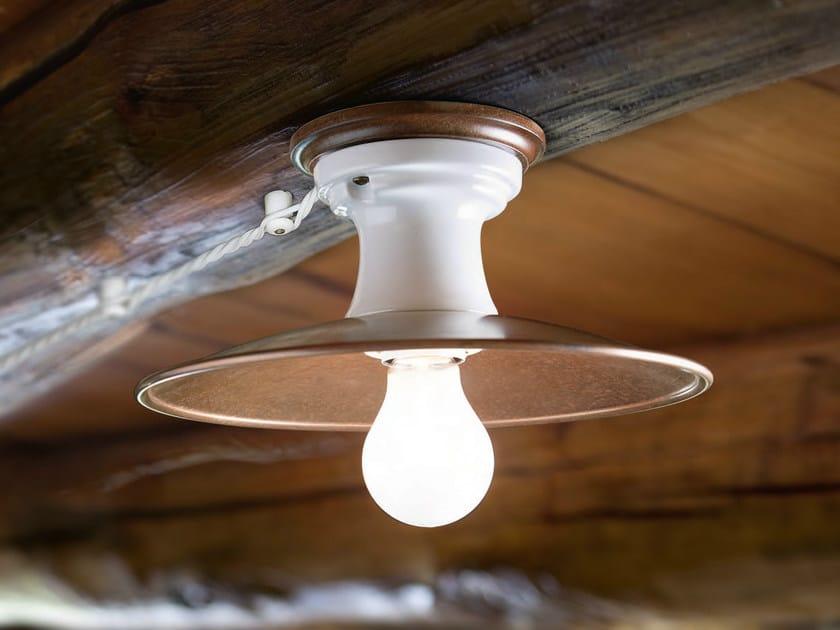 Copper ceiling light POLARE | Ceiling light - Aldo Bernardi