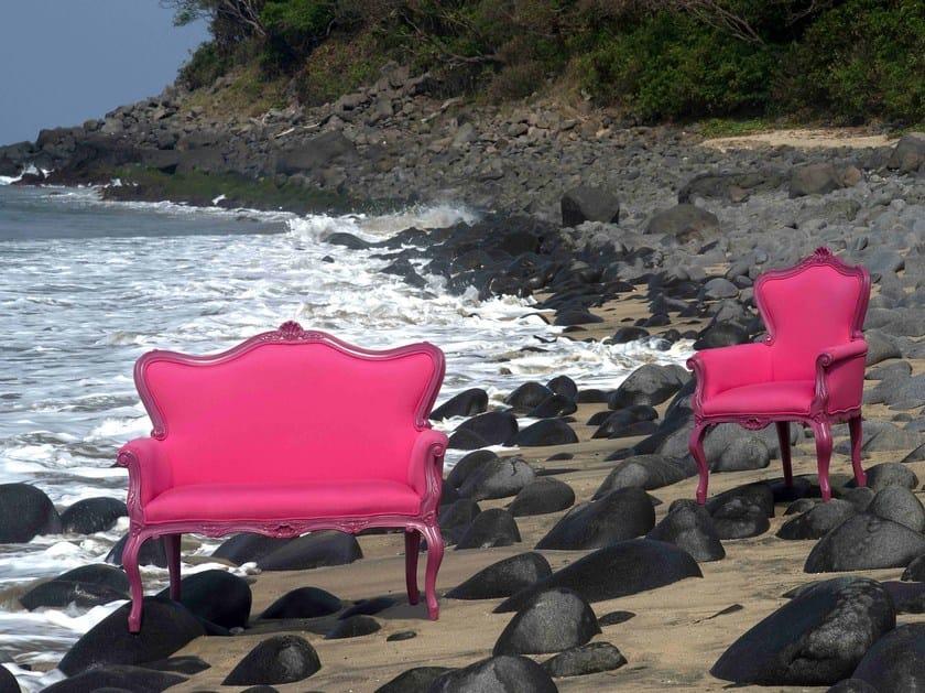 Fabric small sofa POLART | Fabric small sofa - POLaRT