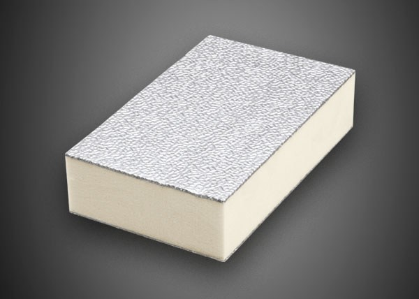 Synthetic material thermal insulation panel POLIISO AD | Polyurethane foam thermal insulation panel by Ediltec
