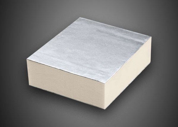 Synthetic material thermal insulation panel POLIISO EXTRA | Expanded polyurethane thermal insulation panel - Ediltec