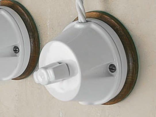 Ceramic electrical socket POLLUCE | Electrical socket by Aldo Bernardi