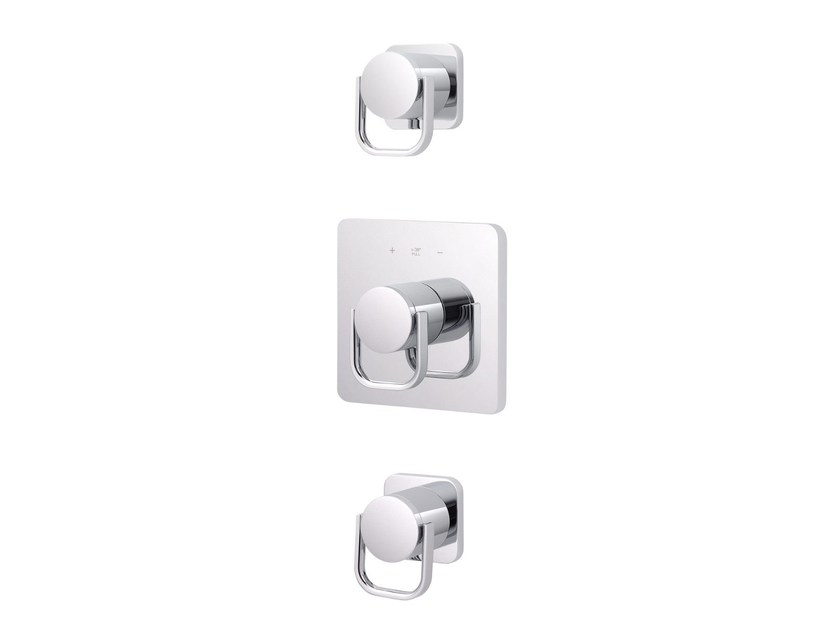 3 hole thermostatic shower mixer POLO CLUB | 3 hole thermostatic shower mixer - rvb
