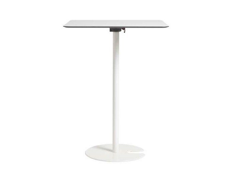 Square high table POLO | High table - Potocco