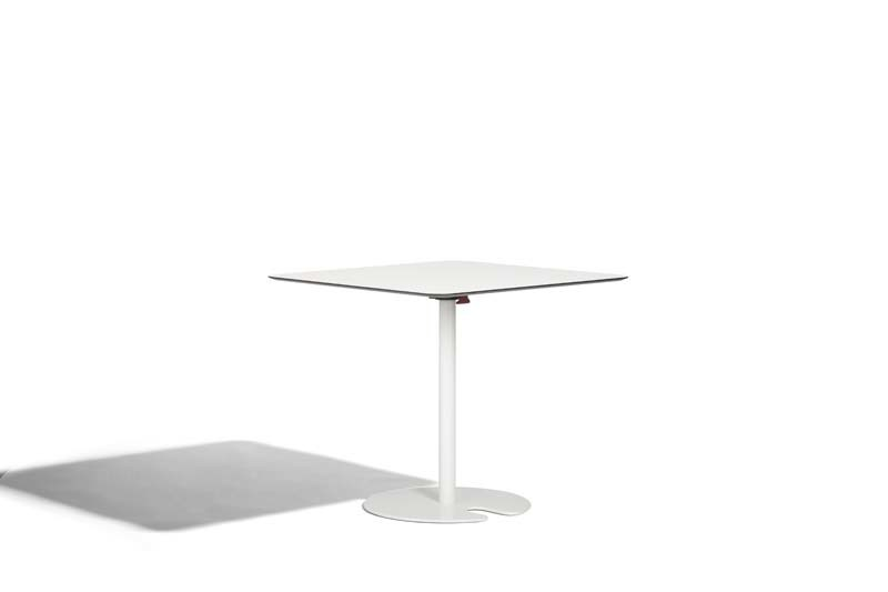 Drop-leaf square table POLO | Square table - Potocco