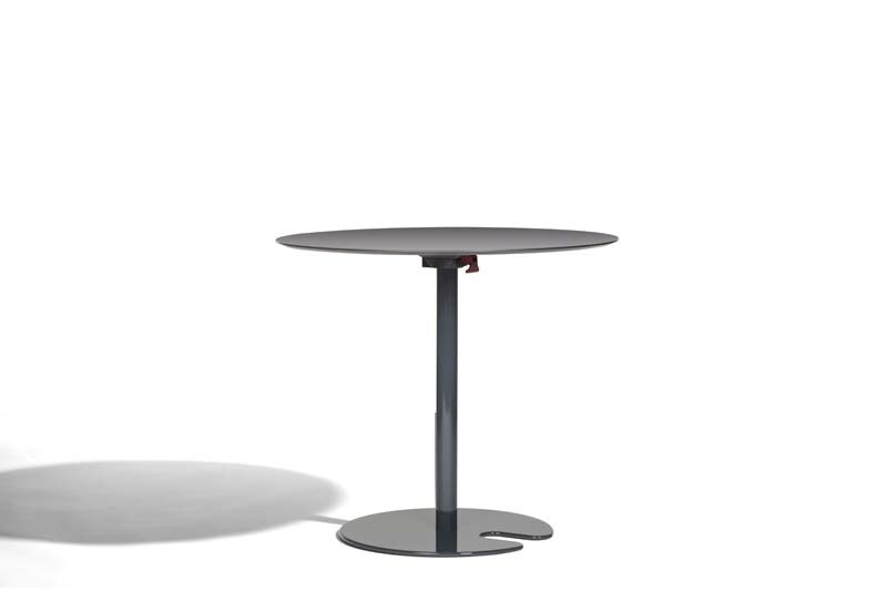 Drop-leaf round table POLO | Round table - Potocco
