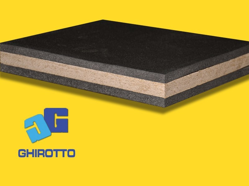 Pannello fonoisolante POLYMASS DUO | Pannello fonoisolante - GHIROTTO TECNO INSULATION